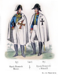 Master and knight in 19th century