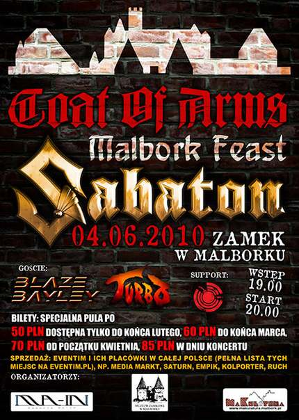 Coat of Arms – Malbork Feast – Sabaton